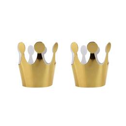 $enCountryForm.capitalKeyWord UK - 50pcs Kids Adult Birthday Paper Hats Cap Gold Color Party Crown Children Kids Birthday Party Decoration Prince Princess A3