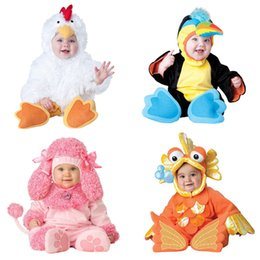 Girl Puppy Clothing Australia - 2018 Carnival Halloween Outfits Baby Boys Girls Costume Animal Cosplay Rompers Jumpsuit Toddlers Infant Clothes Bat elf puppy J190524