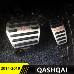 $enCountryForm.capitalKeyWord Australia - Aluminum alloy Car Styling Accelerator Gas Pedal Brake Pedal Cover For Nissan Qashqai j11 2014 2015 2016 2017 2018 Accessories