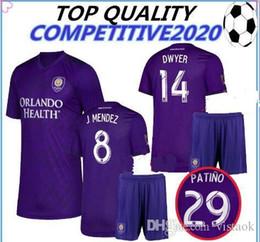Orlando City Shirt Kaka Australia - 2019 2020 thailand Orlando City SC soccer jersey 19 20 J.Mendez Colman DWYER KAKA Orlando Football Camisetas football shirts size S-XL