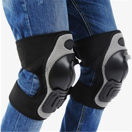 $enCountryForm.capitalKeyWord Australia - 1pair Adjustable Kneepads Support protector Brace Protective Gear Safety Guard Strap For motorcycles Cycling bike skateboard GGA175