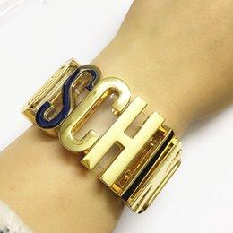 12 cores Cosplay Handmade chamado innitial carta pulseira famosas pulseiras marca de jóias alfabeto transparentes com couro PU em Promoiio