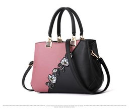 chinese handbags fashion UK - Women Handbags Fashion Leather Handbags Designer Luxury Bags Shoulder Bag Women Top-handle Bags ladies bag 2019 New