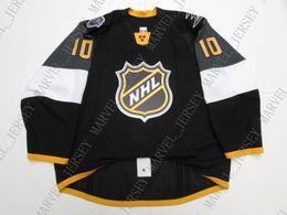 $enCountryForm.capitalKeyWord Australia - Cheap custom 2016 ALL STAR GAME BLACK TEAM ISSUED JERSEY stitch add any number any name Mens Hockey Jersey XS-5XL
