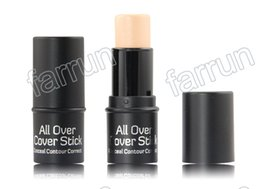 Wholesale no logo color concealer hot sell makeup item Concealer stick factory supplier accpet OEM order to print your logo