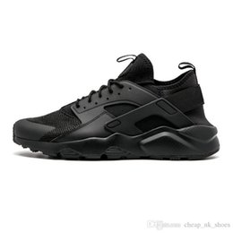 black running shoes for women NZ - huarache ultra 2020 running shoes for men women triple black white red grey breathable mens trainer fashion sports sneakers runners
