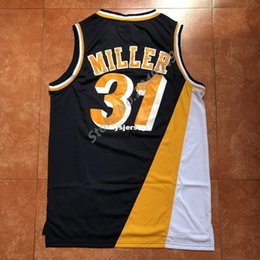 38543451b183 New Mens  31 Reggie Miller Top Basketball Jersey US Size XS-6XL Stitched  Best Quality vest Jerseys Ncaa
