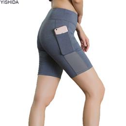 $enCountryForm.capitalKeyWord Australia - Womens fitness trainning Shorts sport Compression Shorts sexy running trunks quick dry gym short pants high waist workout