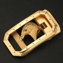 Vente en gros Boucle automatique Eagle pour hommes en acier inoxydable pour ceinture, ceinture en cuir, boucle de ceinture, boucle de ceinture