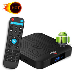 Uhd Tv Box Australia - Factory OEM ODM M9S W1 Android 7.1 Amlogic S905W Quad Core TV BOX 2GB 16GB Suppot H.265 UHD 4K 2.4GHz WiFi Set-top box Better TX6 T95Q