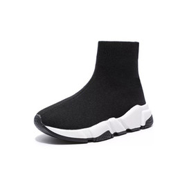 Toddlers fooTwear online shopping - Kids Shoes Designer Chaussures pour enfants Socks Like Shoes Sneakers Toddlers to Youth Size Boys shoes Top Quality Kids footwear Unisex