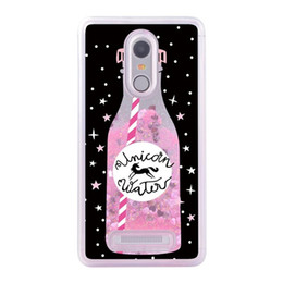 Silicone Liquid Bottle UK - Luxury Liquid Quicksand Glitter Case For Xiaomi Redmi Note 3 Case Cover Pink Perfume Bottle Cover For Xiaomi Redmi Note 3 Case