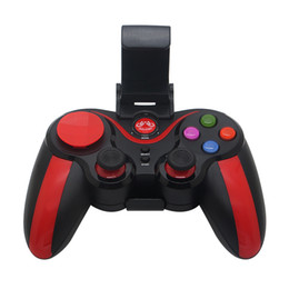 China GEN GAME S5 Plus Wireless Bluetooth Gamepad Remote Control Joystick PC Game Controller with Holder Receiver suppliers