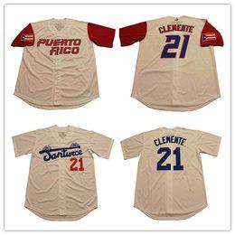 Discount puerto rico jersey - Men s Roberto Clemente jersey  21 Santurce  Crabbers Puerto Rico Baseball 94afd99d7