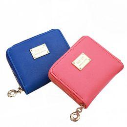 $enCountryForm.capitalKeyWord NZ - Vintage Zipper Womens Short Mini Wallet Women Bag Wallet Women Clutch Small Coin Purse Female Money Coin Bag for Girl Gift