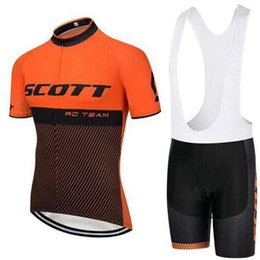 $enCountryForm.capitalKeyWord NZ - Tour de France SCOTT Pro Team cycling jersey 9D gel Pad bike shorts set men Ropa Ciclismo bicycling Maillot Culotte clothing