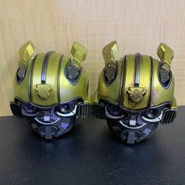 $enCountryForm.capitalKeyWord Australia - 2019 popular Bumblebee cassa Bluetooth Speaker mini Transformers Christmas Kid Gift LED Flashing Light BT boombox hoporler Birthday cute hot