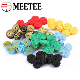 chinese decorative knots NZ - Meetee Traditional Cheongsam Chinese Knot Button Dress Decorative Buttons Chinese Frog Buttons wedding card invitation DIY