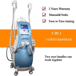 Working laser online shopping - fat freezing machine ultrasonic cavitation rf slimming velashape machine lipo laser fat freezing handles work together