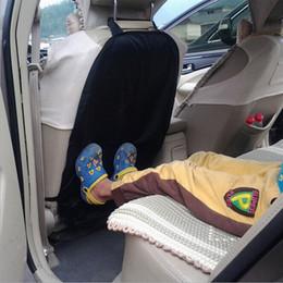 Kick Mats Australia - US 2PCS Car Auto Care Seat Back Protector Cover For Children Kick Mat Mud Clean