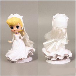 Princess Cake Figures NZ - NO3 Hot Sale Princess Action Figure PVC Collection Model Toys Cake Decorations Or Car Swing For Kids Holiday Party Gifts 15cm