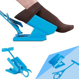 $enCountryForm.capitalKeyWord Australia - 1 PC Injuries Supplies Elderly Helper Wearing Sock Aids Unique Cradle Design Portable Plastic System SH190918