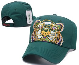 casquette cotton 2019 - New Arrival 2018 Rare Luxury tiger baseball caps Kanye West Saint Pablo cap Embroidery snapback caps bone summer golf ha