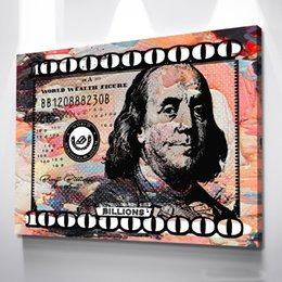 "paint pastels Canada - Alec Monopoly Artwork ""Billions ( Pastel )"" Home Decor Handpainted &HD Print Oil Painting On Canvas Wall Art Canvas Pictures 200517"