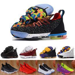 $enCountryForm.capitalKeyWord NZ - 2019 1 Thru 5 I Promise 16 Men Basketball Shoes 16s King Black Gold Red Blue Cny Rainbow Trainers Sports Designer Sneakers 40-46
