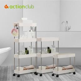 $enCountryForm.capitalKeyWord Australia - 2 3 4 Layer Gap Storage Rack Kitchen Slim Slide Tower Movable Assemble Plastic Bathroom Shelf Wheels Space Saving