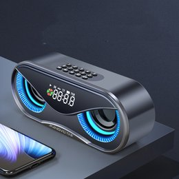 $enCountryForm.capitalKeyWord Australia - M6 wireless bluetooth speaker subwoofer outdoor portable small radio home alarm clock with FM TF Card Slot