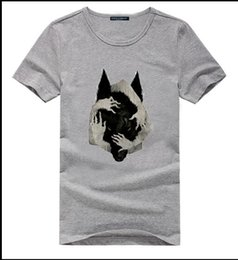 $enCountryForm.capitalKeyWord Australia - 2019 summer Europe and America's favorite unique 3D printing four hand wolf Chinese Kung Fu short-sleeved t-shirt