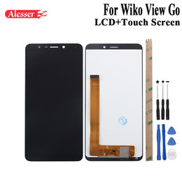 $enCountryForm.capitalKeyWord Australia - Alesser For Wiko View Go LCD Display and Touch Screen Assembly Repair Parts With Tools And Adhesive For Wiko View Go Phone