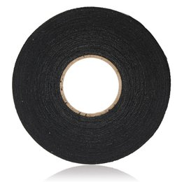 business & industrial black adhesive cloth fabric tape cable wiring harness  wrap diy masking acces adhesive tapes