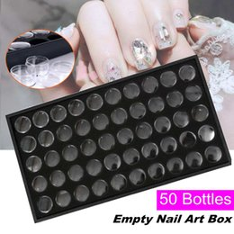 bead organizer container Australia - DIY Nail Art Tools 50 Grids Rhinestones Diamond Beads Storage Case Box Container Glitter Gem Jewelry Display Box Organizer