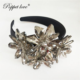 top wedding crowns UK - Top Quality Royal Sparkling Zircon Brides Tiaras Crown Silver Crystal Flower Bridal Hairbands Headpiece Wedding Hair Accessorie SH190927