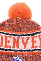 Custom Fashion Beanies Australia - 2019 Unisex Autumn Winter hat Sport Knit Hat Custom Knitted Cap Sideline Cold Weather Knit hat Warm BRONCOS Beanie Skull Cap 03