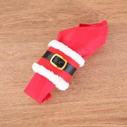 $enCountryForm.capitalKeyWord NZ - 4Pcs Napkin Ring Holders Banquet Dinner Table Christmas Ornament Santa Claus Party Decor DTT88