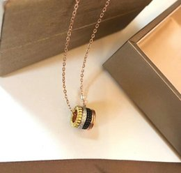 $enCountryForm.capitalKeyWord Australia - Sale Women's Small Bear Shape Hollow Pendant Silver fashion jewelry 925 Necklace Christmas Gift Designer