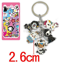 classic alloy NZ - 5set Anime Cartoon Metal Alloy Zinc Figures Keychain Fashion Pendants Charms Phone Straps Model Cosplay Keyring Figure Toys