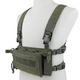 breathable storage bags UK - Tactical Equipment Breathable Multi-functional Vest Storage Bag For Shooting Paintball Hunting