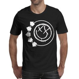 $enCountryForm.capitalKeyWord Australia - Blink 182 Vintage old Punk rock 2019 Summer personalised T Shirt For Men graphic funny graphic tees shirts