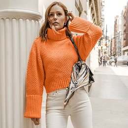 korean clothes sweater knits Australia - Sweater Women 2019 Sweat Women In Women's Pullover winter clothes knitted sweater turtleneck Long Sleeve korean style