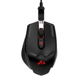 Cool Pc Mouse UK - Rii M01 is equipped with red LED wired mechanical cool gaming mouse, PC optical sensor