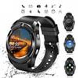 Bluetooth Smart Watch Sim Australia - V8 SmartWatch Bluetooth Smartwatch Touch Screen Wrist Watch with Camera SIM Card Slot, Waterproof Smart Watch DZ09 X6 VS M2 A1