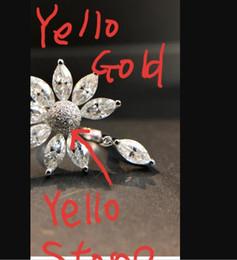 $enCountryForm.capitalKeyWord Australia - AEAW Solid 14K White Gold 9pcs Moissanite Marquise Cut Engagement Ring Bridal Wedding Jewelry Dainty Female Finger Ring