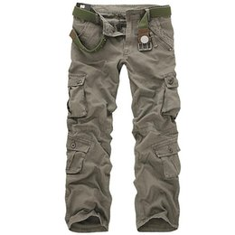 $enCountryForm.capitalKeyWord Australia - Men Tactical Military Pants Male Casual Multi-pockets Overalls Loose Style Trousers Mens Fashion Cargo Outwear Camouflage PantsMX190902