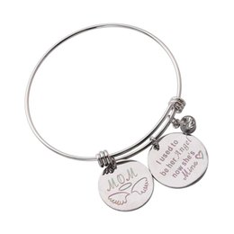 ladies bangle simple Australia - 1PC Carving Personalized Adjustable Simple Stainless Steel Charm Bracelet Bangle Gift Jewelry Gift for Girls Women Female Ladies