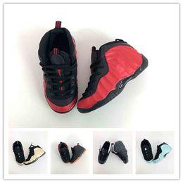 a37d4351331b7 kids Unisex Kids Penny Hardaway Foam One Basketball Shoes Boys Purple  Sports Girls Sneakers for Child Children Athletic Teenage