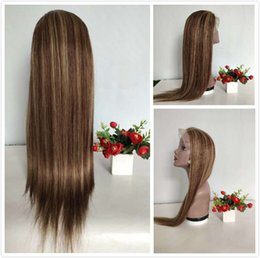 $enCountryForm.capitalKeyWord Australia - 150% Density Braided Lace Front Wigs Raw Indian Glueless Human Hair Wig For Black Women Colored P8 22 Straight Full Lace Wig With Baby Hair